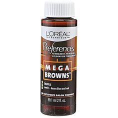 Mega Browns BR6 Truffle Permanent Hair Color -- Click image to review more details. (This is an affiliate link and I receive a commission for the sales) #HairColoringProducts