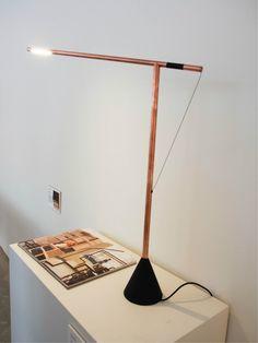 Copper Balance lamp by Studio Mieke Meijer #Milan #Dutchdesign Photocredit Nanda Rave, Gimmii.nl