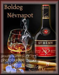 Lady Moon uploaded this image to 'Koszono kartyak/Nevnap'. See the album on Photobucket. Happy Name Day, St Remy, Homemade Beauty Products, Cool Websites, Diy Beauty, Whisky, Whiskey Bottle, Alcoholic Drinks, Projects To Try
