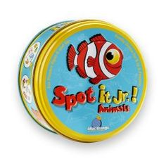Spot it Jr. is a card matching game where children need to match animals of the same pattern and size. This game promotes cognitive self-regulation by suppressing impulses and switching the rules from card to card.