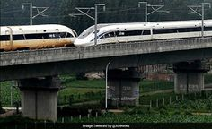 OfficialTrendNews: China's Bullet Trains Deliver A First: A Crossover...