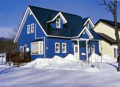 Blue houses | Blue House
