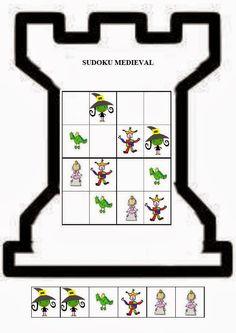 El pupitre: Ficha sudoku