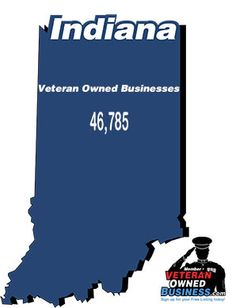 Shows Numbers Statistics And Percentages Specific To Veteran Owned Businesses In Indiana 9 7