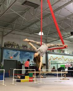 This is my favorite pose right now! Aerial Acrobatics, Aerial Dance, Aerial Hoop, Aerial Arts, Aerial Silks, Pranayama, Mendoza, Anti Gravity Yoga, Air Yoga
