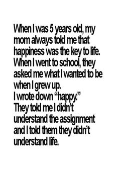 interesting sayings about life | happy funny life quotes - understand the assignment - Funs & Mix