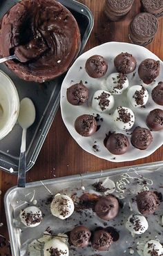 You can't go wrong with the classic truffle recipe that's tried and true: no-bake Oreo truffles coated in w...