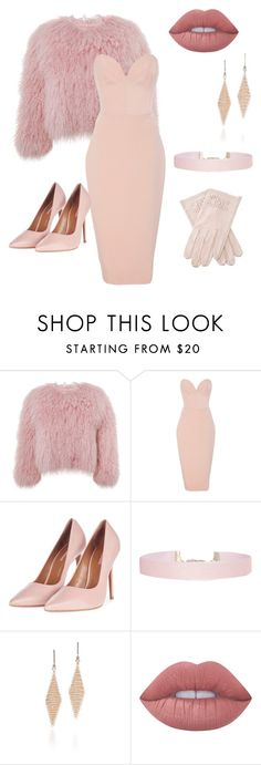 """fancy pink"" by ausrine-paulikaite ❤ liked on Polyvore featuring Charlotte Simone, Christian Siriano, Topshop, Humble Chic, Tiffany & Co., Chanel and Lime Crime"