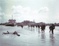 10 Poignant Then-and-Now D-Day Scenes Transport You to Normandy's Beaches & the Churches of France