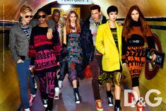 D G Fall 2011 Campaign2 D Fall 2011 Campaign by Mario Testino