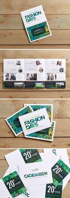 Villa Maria Fashion Days '15 Print - grafisch ontwerp