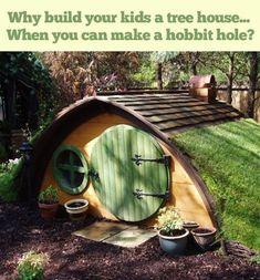 hobbit hole playhouse - Google Search