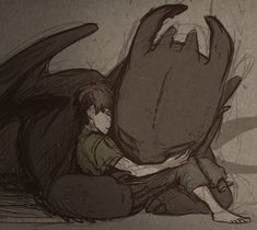 I won't let go httyd fan art of hiccup & dragon toothless by Hiccup Dragon, Toothless Dragon, Hiccup And Toothless, Dragon 2, Httyd Dragons, Dreamworks Dragons, Cute Dragons, Disney And Dreamworks, Dragon Rider