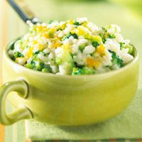 Easy Cheesy Broccoli and Rice