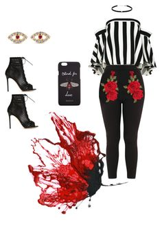 red by arleenxoxo on polyvore featuring milly gucci ileana makri gianvito