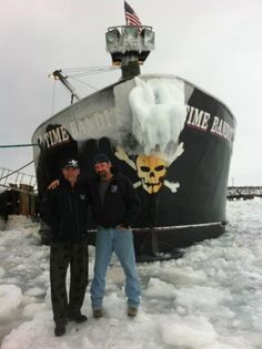 jonathan hillstrand deadliest catch | ... at all that ice # jonathan hillstrand # time bandit # deadliest catch