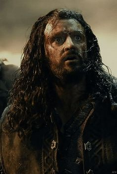 Richard Armitage as Thorin Oakenshield..so much pathos in this.