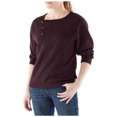 The North Face Willow Grove Sweater - Women's, Color: BAROQUE Purple HEATHER, Size: XS - and it comes in colors!