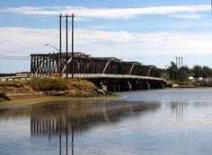 The old Wooden Bridge  Cocagne, New Brunswick