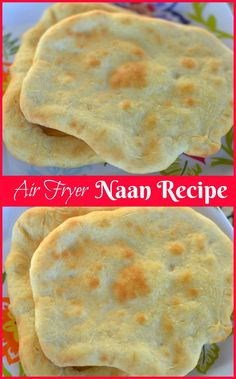 Air Fryer Naan Recipe: Best Naan EVER! - Guide 4 Moms - - I have been obssessed with my Air Fryer and rightly so, everything just turns out PERFECTLY in it. Check out this Air Fryer Naan Recipe, another winner in my book! Air Fryer Recipes Snacks, Air Fryer Recipes Low Carb, Air Frier Recipes, Air Fryer Recipes Breakfast, Air Fryer Dinner Recipes, Airfryer Breakfast Recipes, Breakfast Cooking, Scones, Beef Jerky