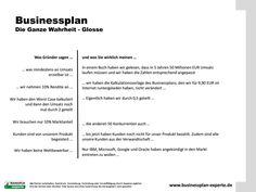 Businessplan - Witzige Aussagen aus Businessplänen und was die Schreiber wirklich sagen möchten - www.businessplan-experte.de