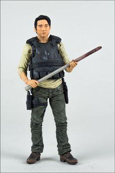 McFarlane Walking Dead TV Series 5 Glenn Action Figure NIB !!!!