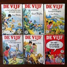 'De Vijf' - 6 boeken uit de serie van Enid Blyton