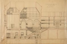 Pennsylvania Academy of Fine Arts showcases rare architectural drawings by Frank Furness