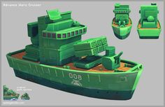 Advance Wars Cruiser - Page 2 - Polycount Forum