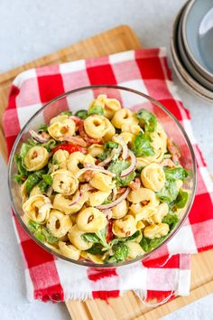 Tortellini Pasta, Cooking Recipes, Healthy Recipes, Min, Catering, Salads, Brunch, Food And Drink, Spaghetti