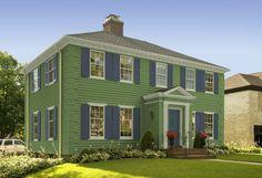 Simply home siding color bennington gray exterior for Design your own room benjamin moore
