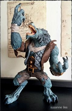 Clect - Collect and Share. Geek and Proud > Clect  World of Warcraft: Series 7: Worgen Spy: Garm Whitefang Action Figure #worldofwarcraft, #wow, #worgen, #dccomics, #dc, #werewolf
