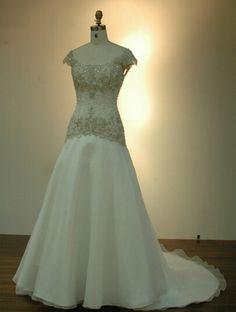 Directsale Off Shoulder Embroidered Beads Wedding Dress Trumpet/Mermaid Wedding Dress Free Measurement