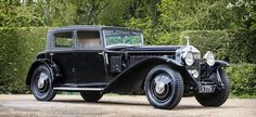 1931 Rolls-Royce Phantom II Continental Touring Saloon Coachwork by Mulliner