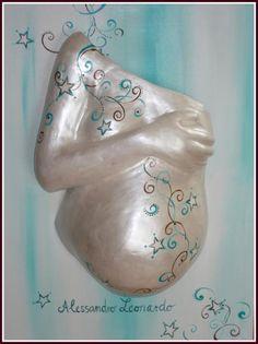 Ranken - Gipsabdruck, Bauchmaske, Babybauch, Schwangerschaft Düsseldorf