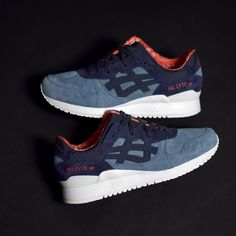 Asics Gel Lyte III Christmas . Disponible/Available: SNKRS.COM http://www.95gallery.com/