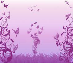 Purple Butterfly | Purple butterflies... by SweetToothAngel