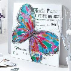 Bild Schmetterling Modern