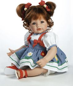 """Baby Doll """"Daisy Delight"""" Red Hair / Blue Eyes modern-baby-toys"""