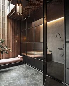 60 awesome open bathroom concept for master bedrooms decor ideas Open Bathroom, Modern Master Bathroom, Bathroom Interior, Diy Interior, Bad Inspiration, Bathroom Inspiration, Interior Inspiration, Scandinavian Home, Contemporary Decor
