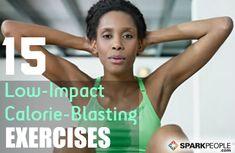 Low-Impact Exercises That Burn Major Calories via @SparkPeople