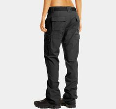 Women's Tactical Duty Pants | 1237106 | Under Armour US. Wish they had more colors though...