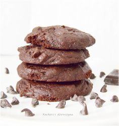 American cookies - ciasteczka czekoladowe z kawałkami czekolady