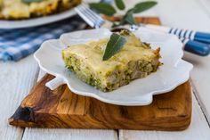 Slow Cooker Cheesy Broccoli & Cauliflower Casserole is of course delicious. Gotta love that broccoli and cheese flavor combo!   #broccolicasserole #healthycrockpotrecipes