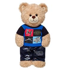 Dress your furry friend like your favorite characters with licensed clothing from Build-A-Bear® Workshop! Online Gift Shop, Online Gifts, Custom Teddy Bear, Boyds Bears, Teddy Bears, Build A Bear Outfits, Kid Picks, Beautiful Unicorn, Finger Puppets