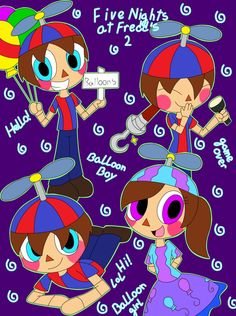 Five Nights at Freddy's 2: Balloon Boy by AnimalComic96 on DeviantArt