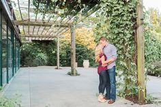 Engagement session outfit idea- maroon and blue and love her wedges!