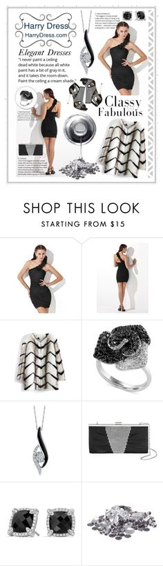 """""""Harry Dress"""" by diva1023 ❤ liked on Polyvore featuring Chicwish, Effy Jewelry, Sirena, Gunne Sax By Jessica McClintock, David Yurman and harrydress"""