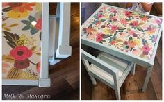 DIY Inspiration: 15 Makeovers of the LÄTT Table & Chairs Set | Apartment Therapy