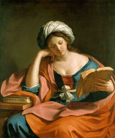 The Libyan Sibyl, by Giovanni Francesco Barbieri (Guercino, or Il Guercino) (Italian, 1591–1666).